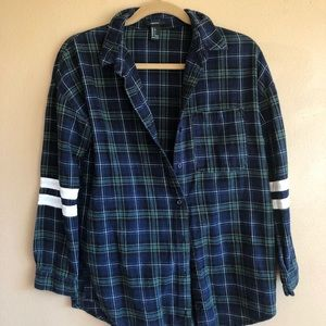 Forever 21 Flannel with Stripes